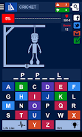 Screenshot of Hangman - Quiz 2