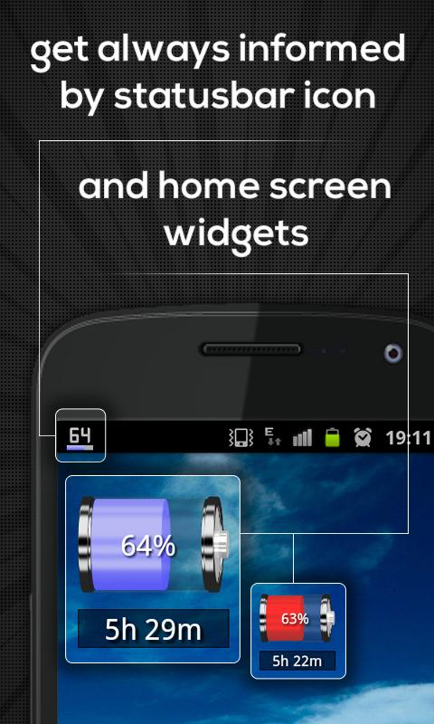 Battery Indicator Pro Screenshot 1