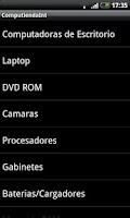 Screenshot of Computienda Internacional