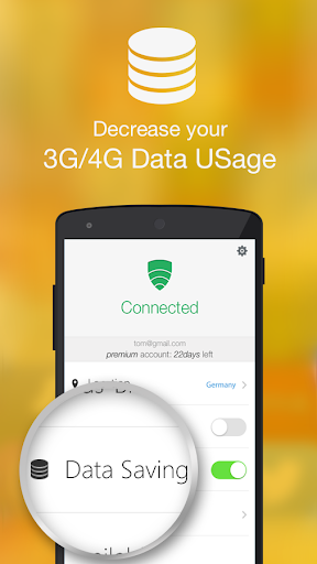 vpn-in-touch for android screenshot