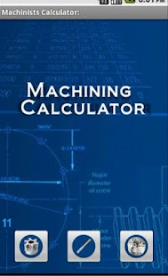 Hobby Machinist Calculator - screenshot