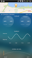 Screenshot of iPlaya: beach weather