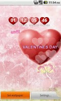Screenshot of Valentines Day Live Wallpaper