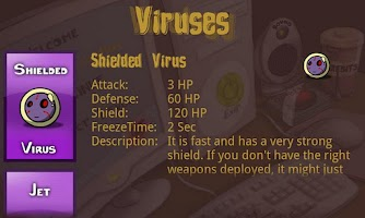 Screenshot of Virus Sushi