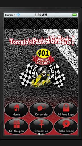 401 Mini Indy Go-Kart App
