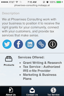 Phoenixes Consulting, LLC - screenshot