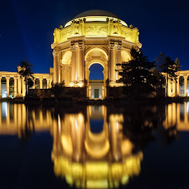 Palace After Hours by Zach Wills - Buildings & Architecture Statues & Monuments ( reflection, california, blue hour, long exposure, night, palace of fine arts, san francisco )