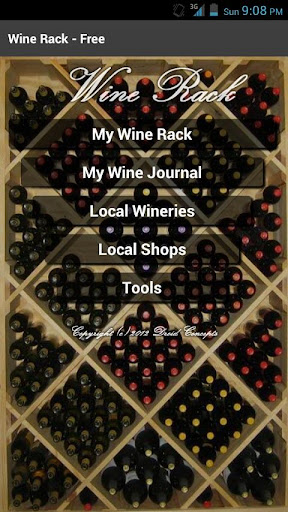 Wine Rack - Free