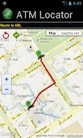 Screenshot of ATM Locator Pakistan