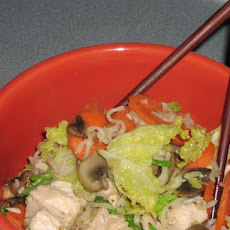 Stir-Fried Cabbage Noodles