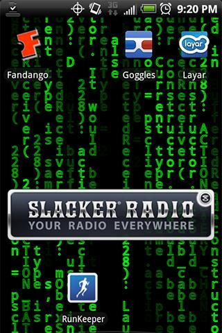 Matrix Logcat Live Wallpaper
