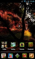 Screenshot of Nature HD Apex/Nova Theme