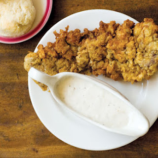 Chicken-Fried Steak with Cream Gravy