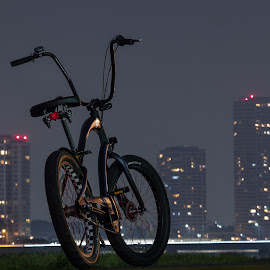Electra with Tamagawa Rise by Benjamin Moore - Transportation Bicycles ( tamagawa, electra, bicycle, Bicycle, Sport, Transportation, Cycle, Bike, ResourceMagazine, Outdoors, Exercise, Two Wheels )