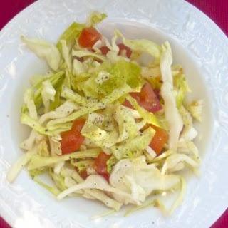 Cabbage Tomato Salad Recipes