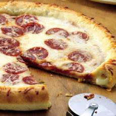 Truly Delicious Stuffed Crust Pizza