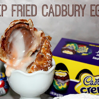~Deep Fried Cadbury Eggs!