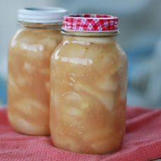 Canning Apple Pie Filling