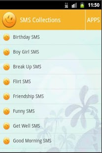 SMS Collections - screenshot