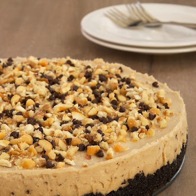 Nut Butter No-Bake Cheesecake