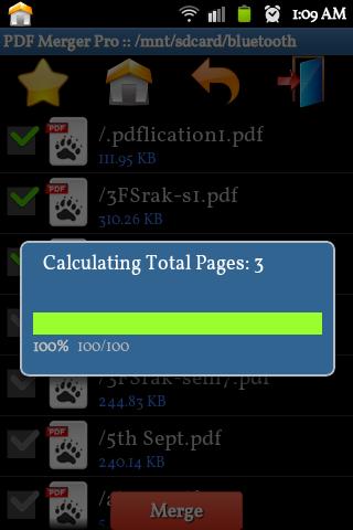 PDF Merge Pro - screenshot