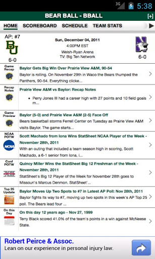 Baylor Football Basketball