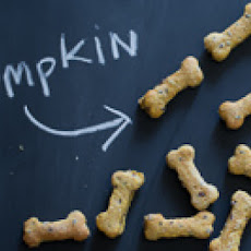 Pumpkin Flaxseed Dog Biscuits