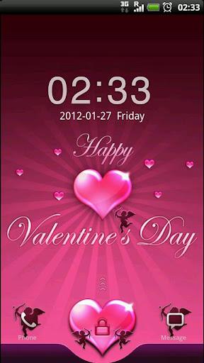 GO Locker Valentine's Day