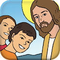 Children's Bible Comic Book icon