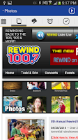 Screenshot of Rewind 100.7