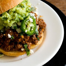 Tex-Mex sloppy Joe sandwiches