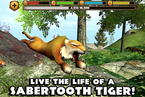 Sabertooth Tiger Simulator - screenshot