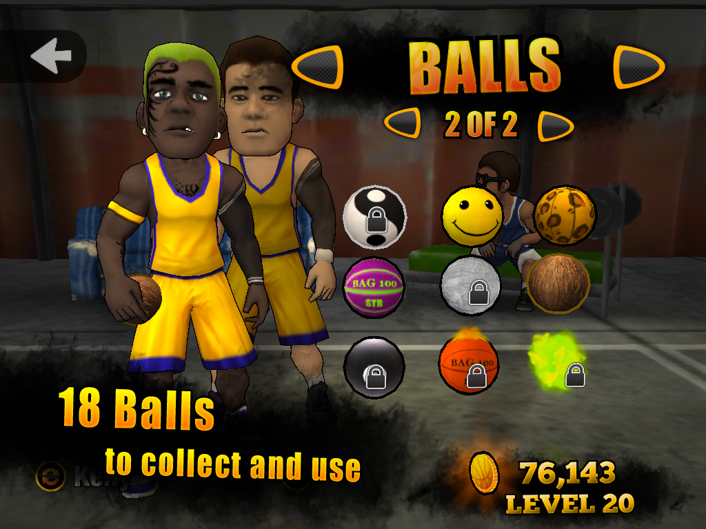Jam League Basketball Screenshot 8