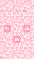 Screenshot of Cute wallpaper★Pink leopard