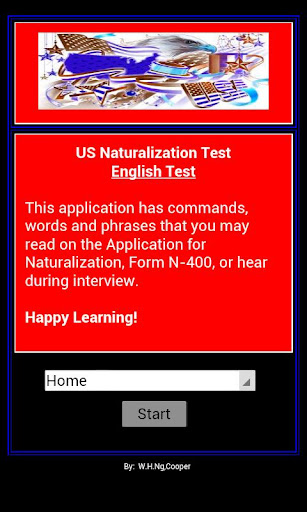 Citizenship - US English Test