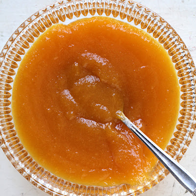Apricot and Almond Sauce
