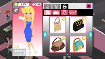Screenshot of Fashion Story: Neon 90's