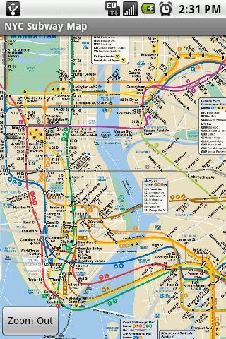 【免費旅遊App】NYC Subway Map-APP點子