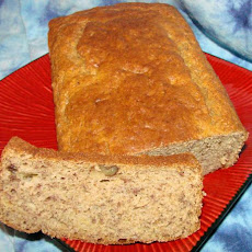 Banana Nut Bread With Yogurt and Whole Wheat Flour