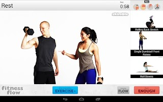 Screenshot of Fitness Flow