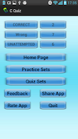 Screenshot of C Quiz