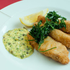 Pollock Goujons With Home-made Tartare Sauce