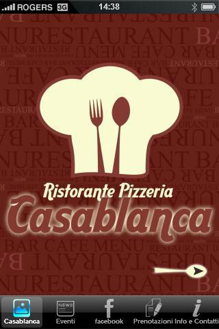 【免費生活App】Casablanca Ristorante - Pizzer-APP點子