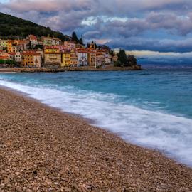 Long sandy Beach by Siniša Biljan - Landscapes Beaches