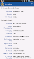 Screenshot of COMELEC