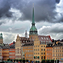 by Jose Figueiredo - City,  Street & Park  Historic Districts ( sweden, old, city )