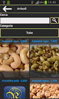 Screenshot of Visa Fruit catalogo prodotti