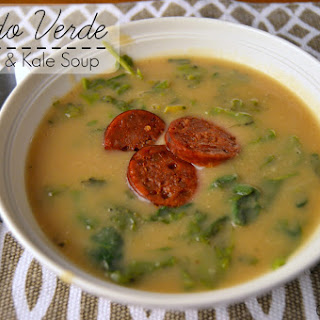 Caldo Verde (Potato & Kale Soup)