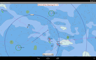 Screenshot of Marine Navigation / Charts USA