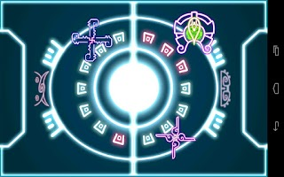 Screenshot of Paddletronic Duel